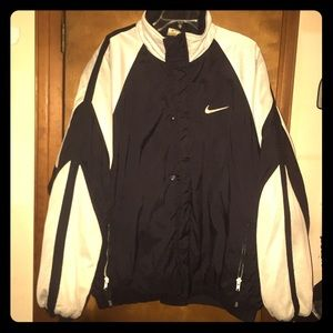 Vintage 90's Nike Zip/Button-Up Coat XL